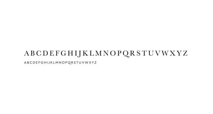 Louis Roitel Typographie