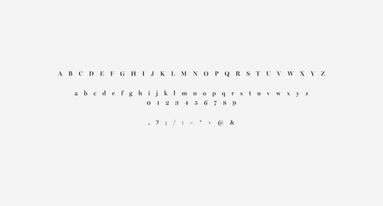 Marine Typographie