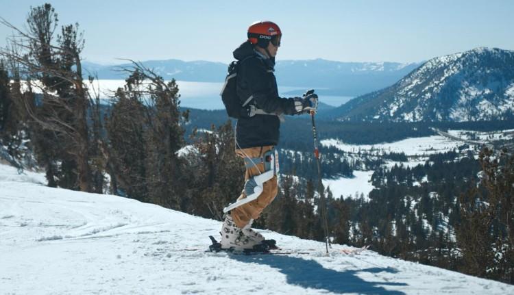 Exosquelette et sport d'hiver