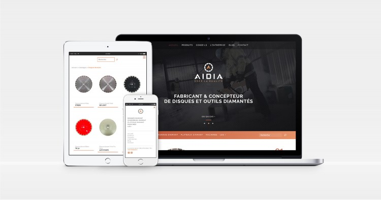 Aidia Creation Site Vitrine